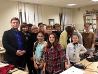 Мастер-класс Ольги Погодиной в Детской академии дизайна в группе авторского курса Артура Рыжова
