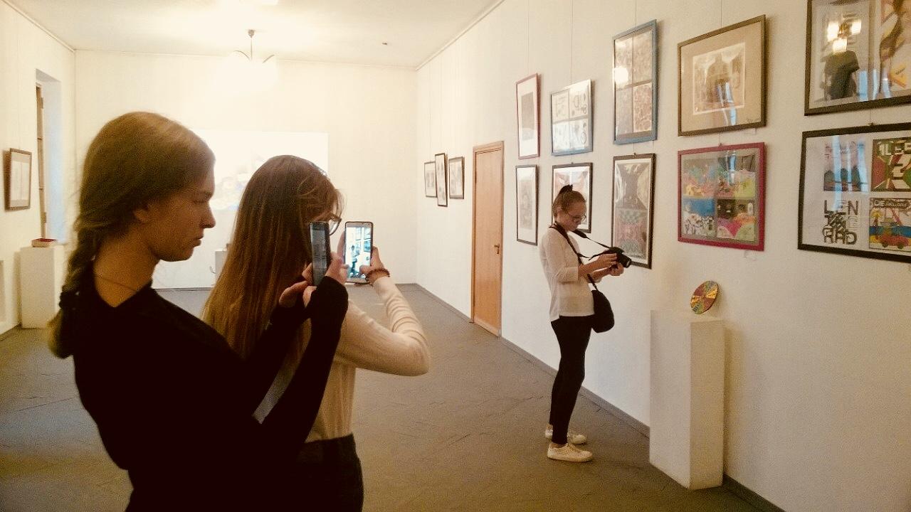 Открытие выставки в Центральном доме дизайнера
