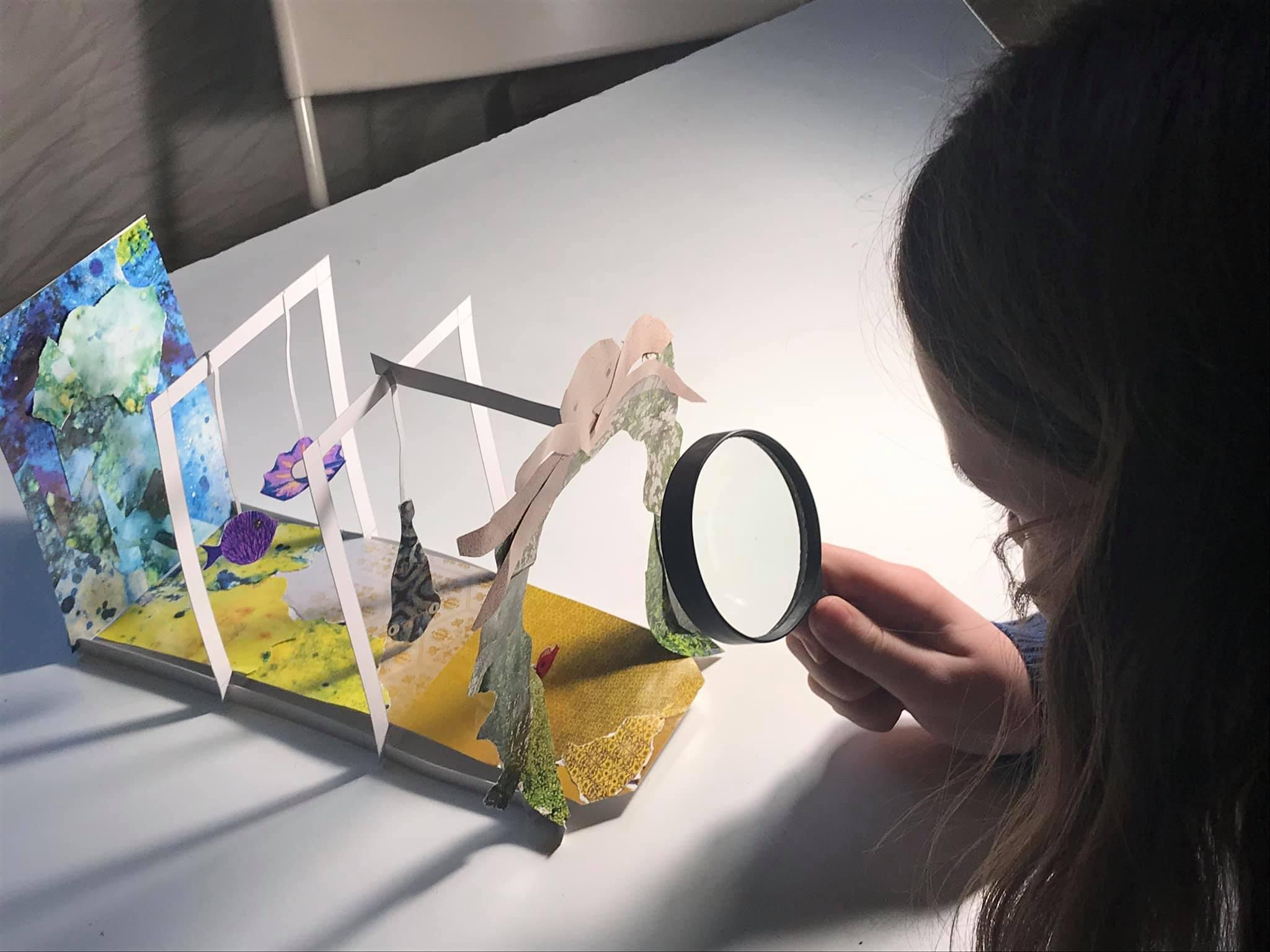 Мастер-класс «Иллюзия в комнате Дали»