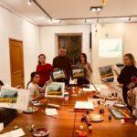 Мастер-класс живописи и дизайна для детй «Тайна кисти Ван Гога» Мастер-класс А. Восканян / 2019